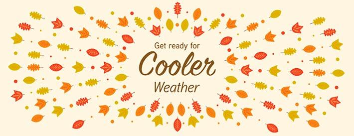 Cooler Weather Header